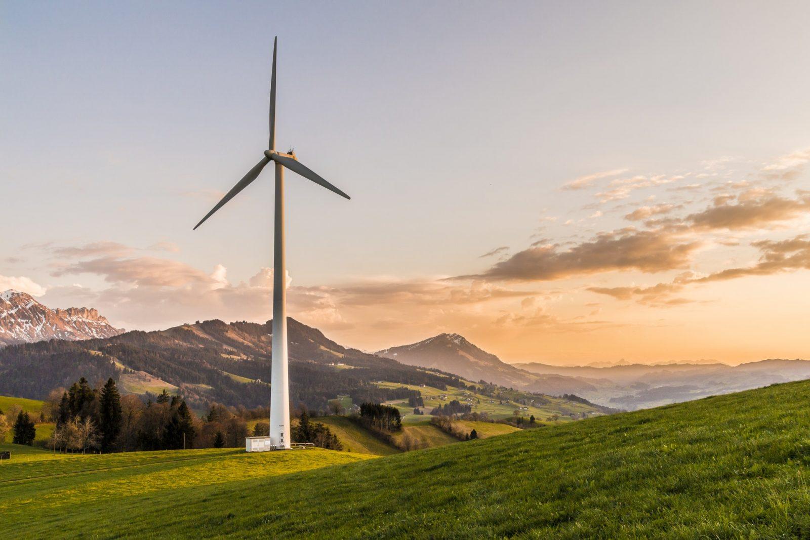 Invest Green, green windmill